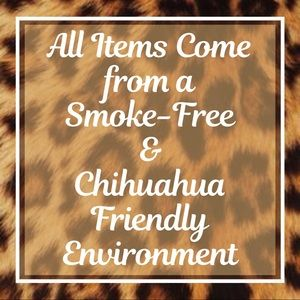 All Item Come From A Smoke-Free Environment